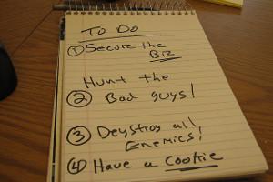 Liste classée par priorité
