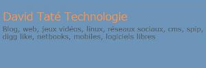 David Taté Technologie