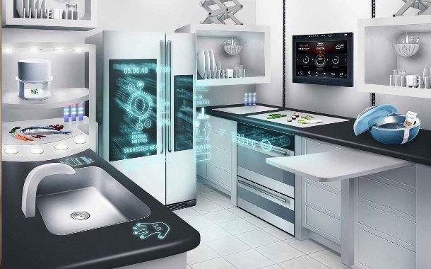Communication futuriste objets connectés