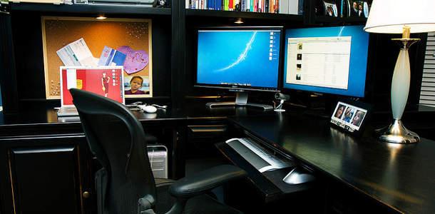 Minimalise bureau