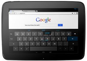 Nexus 10 clavier