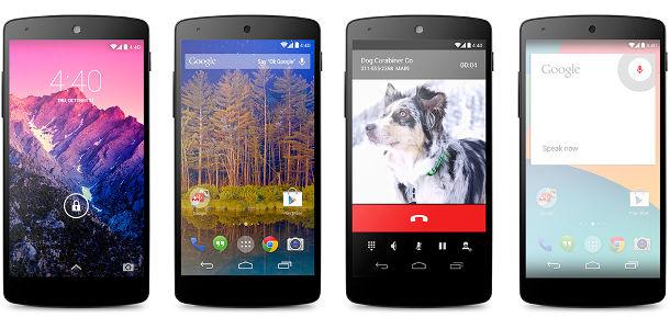 nexus 5 android kitkat