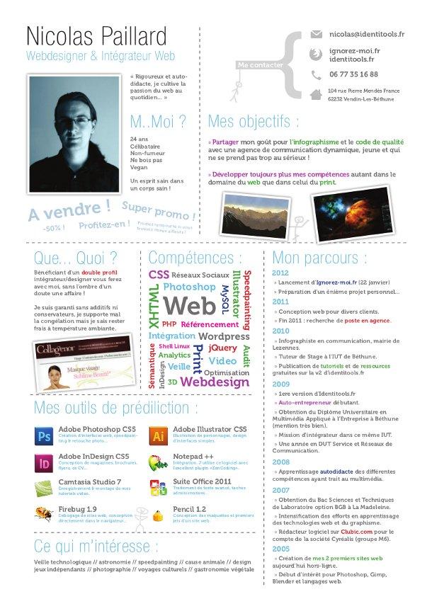 CV Nicolas Paillard Identitools