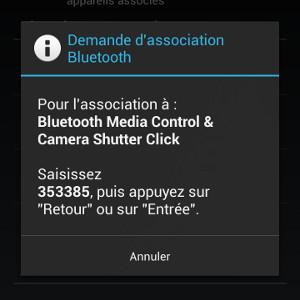Novodio bluecon.i connexion Android