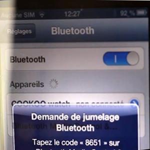 Novodio bluecon.i connexion iOS