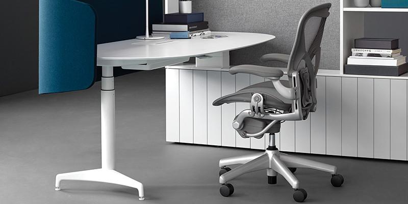 Chaise et fauteuil de bureau
