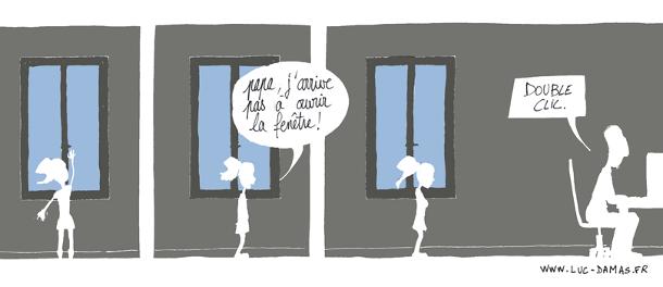 Ouvrir la fenêtre