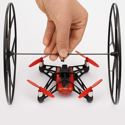 Parrot minidrones Rolling Spider roues