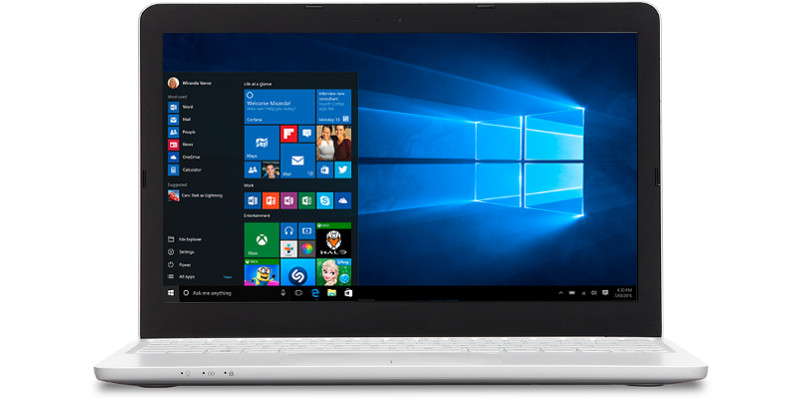 PC portable professionnel windows