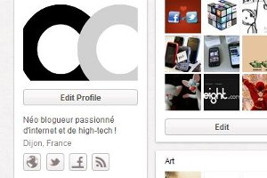 Pinterest coreight profil