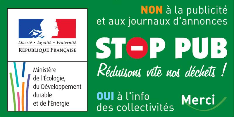 Publicité stop