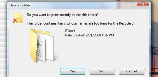 Récupérer fichier corbeille