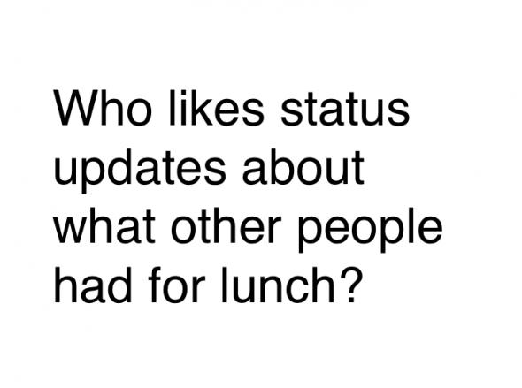 Question réseaux sociaux
