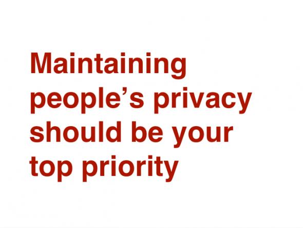 Vie privée sur les réseaux sociaux