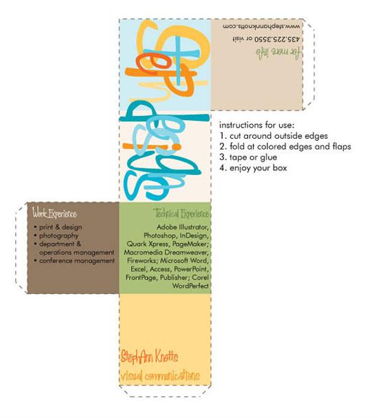 CV graphiste 7