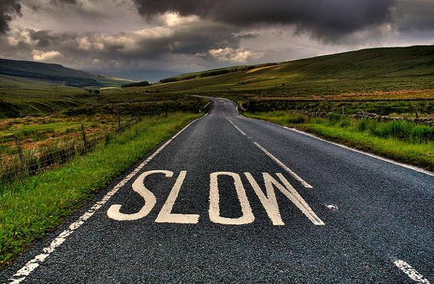 Slow web