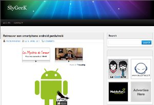 Slygeek retrouver smartphone android