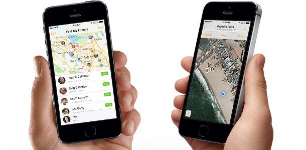 Smartphone sécurité trouver proches