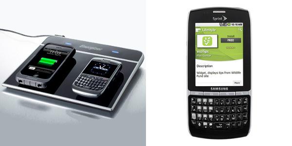 Smartphone du futur : recharge