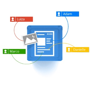 Stockage en ligne partage collaboration