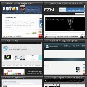 Stockage en ligne page personnalisée