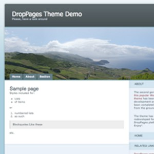 Stockage en ligne site DropPages