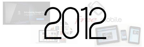Les tendances web et high-tech à suivre pour 2012