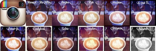 Petit guide des filtres d'Instagram