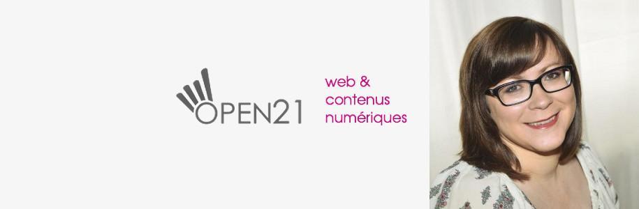 La geek du jour : Agathe Bonnin d'open21