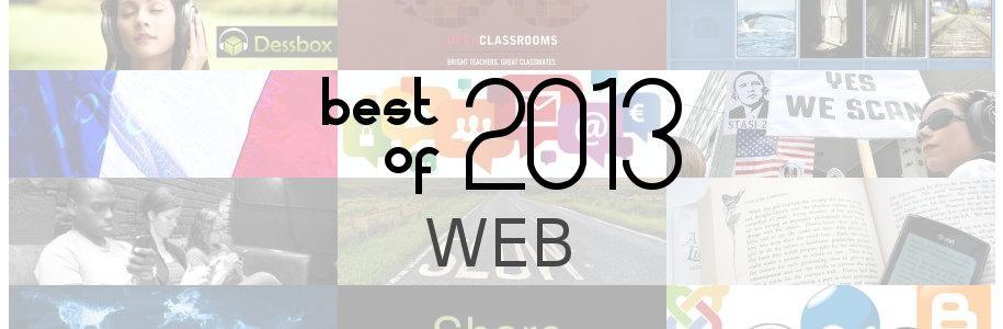 Best of 2013 : web