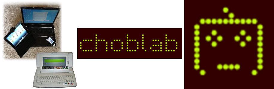 Le geek du jour : Chob de choblab