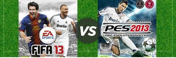 FIFA ou PES ? Le grand match des jeux de foot