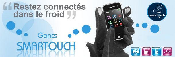 [Test] Gants Isotoner SmarTouch, pour utiliser son smartphone les mains au chaud. Deux paires à gagner !