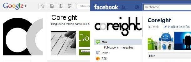 Google+ VS Facebook pages marques