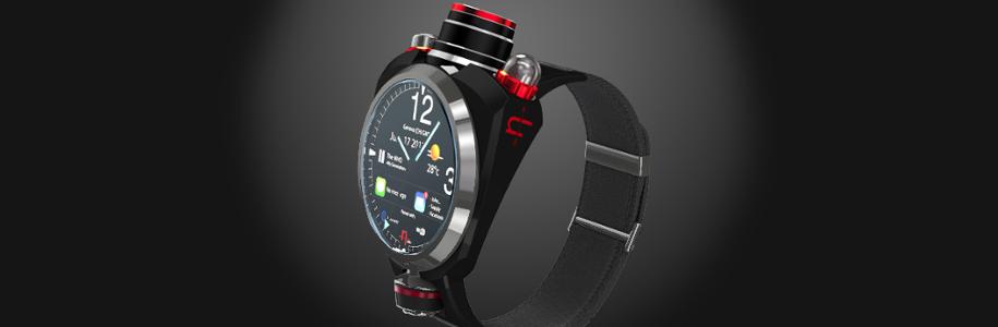 Hyetis Crossbow, la montre connectée sera aussi haut de gamme [sponso]