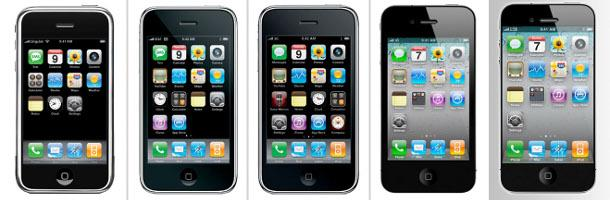 Évolution de l'iPhone