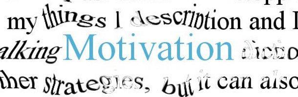 Ces choses qui boostent ma motivation