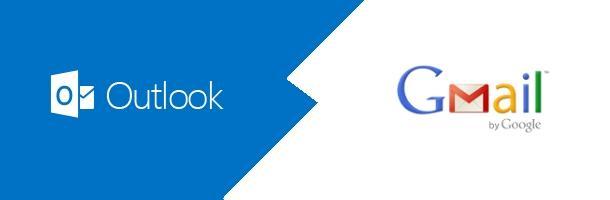 Outlook VS Gmail, une nouvelle bataille pour nos boîtes mails ?