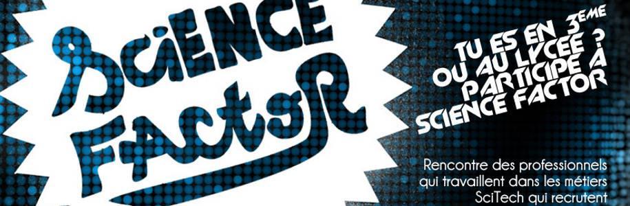 Science Factor veut susciter les vocations scientifiques chez les jeunes
