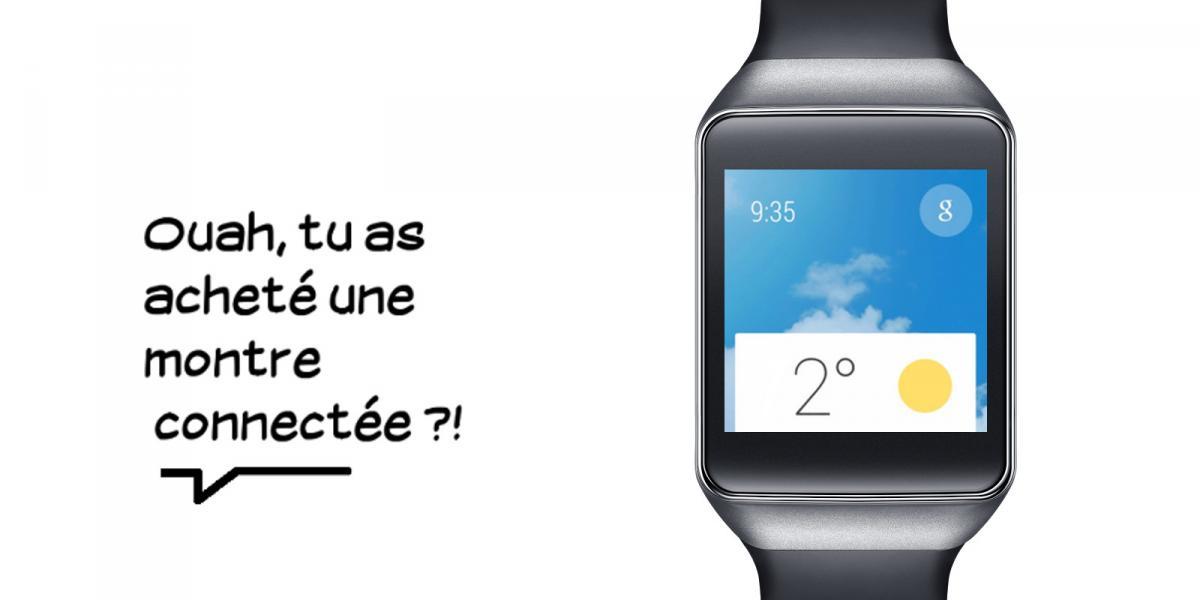Technotroll #7 : quand il porte une montre connectée