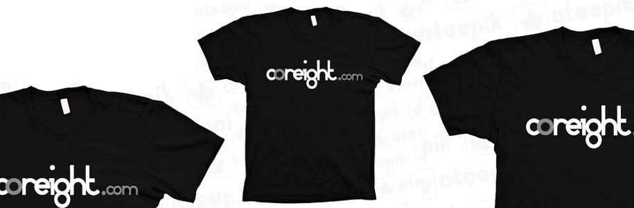 Concours de l'été : des tee-shirts coreight .com et de la publicité à gagner !