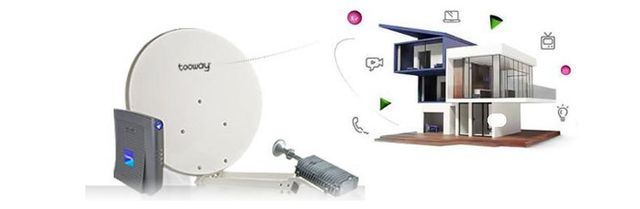 Internet passe partout avec Tooway, les offres haut débit par satellite [sponso]