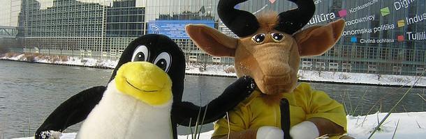 Tux et GNU