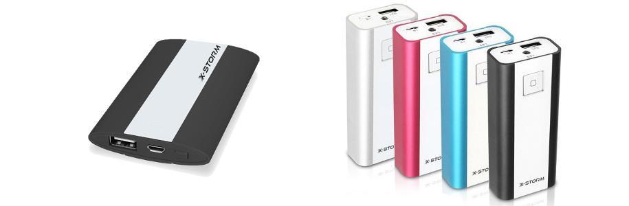[Test] X-Storm PowerGo, des batteries externes pour tes appareils mobiles