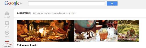 Google+ Événements, un argument intéressant pour attirer de nouveaux utilisateurs?