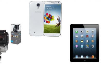 Bonnes affaires high-tech : iPhone 4S, Galaxy S4, iPad 4, GoPro... et plein d'autres !