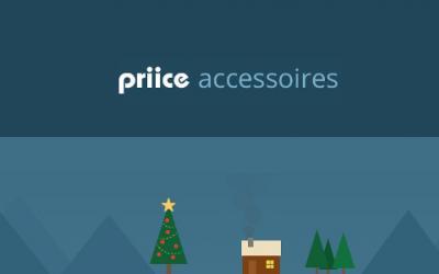 Priice accessoires t'aide à trouver des idées de cadeaux et à proposer tes propres listes