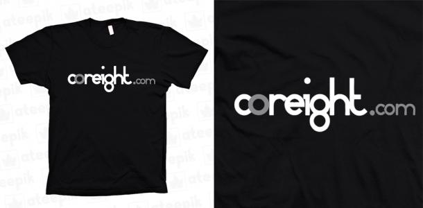 t-shirt coreight