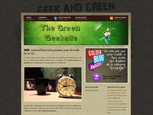 The Green Geekette