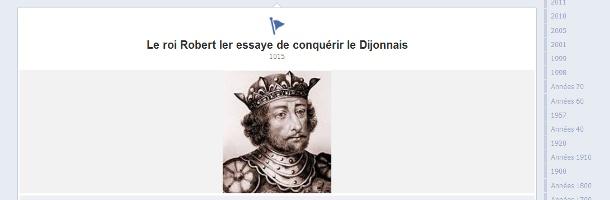 Apprendre l'histoire grâce à la timeline de Facebook